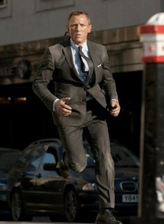 Daniel Craig at First Look at Javier Bardem in SKYFALL