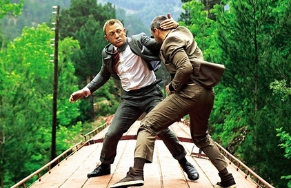 Daniel Craig at New Behind-the-Scenes SKYFALL Images