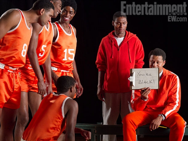 Terrence Howard at EW Releases New Photos of MOVIE 43's All-Star Cast