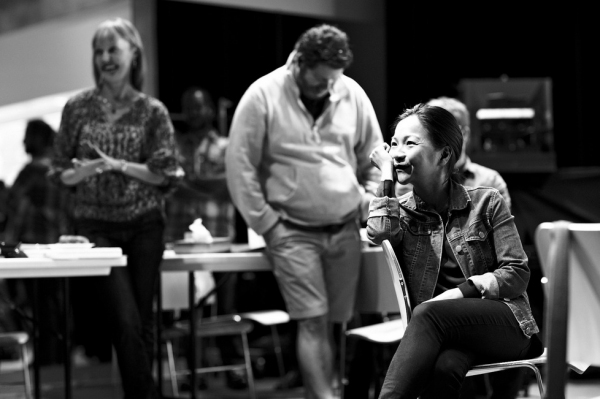 Photo Flash: In Rehearsal with the Cast of GOLDEN CHILD!