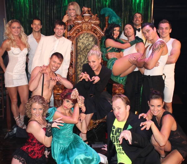 Kaley Cuoco and the Cast of ABSINTHE at MEAN GIRLS' Lacy Chabert and BIG BANG THEORY's Kaley Cuoco Spotted at ABSINTHE