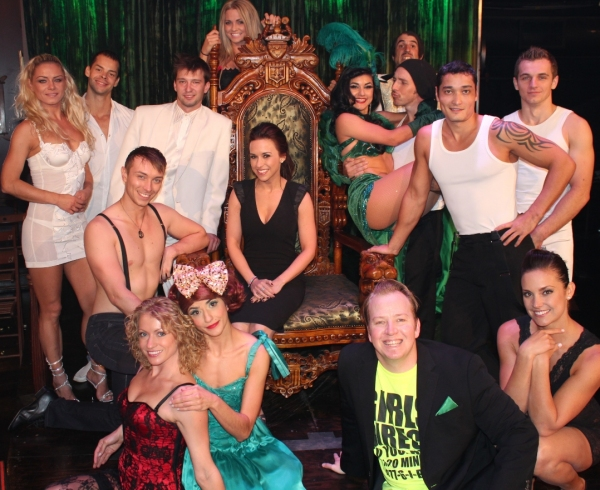 Photo Flash: MEAN GIRLS' Lacy Chabert and BIG BANG THEORY's Kaley Cuoco Spotted at ABSINTHE
