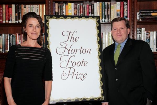 Naomi Wallace, David Lindsay-Abaire at Lynn Nottage, Naomi Wallace and More at the 2012 Horton Foote Awards