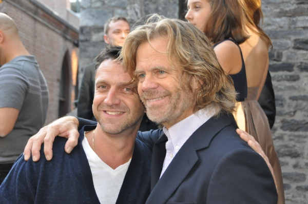 Raul Esparza and William H. Macy at Felicity Huffman, F. Murray Abraham, and More at Atlantic Theatre Company's Reopening!