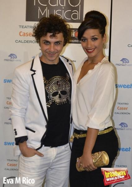 David Ývila y Chanel Terrero