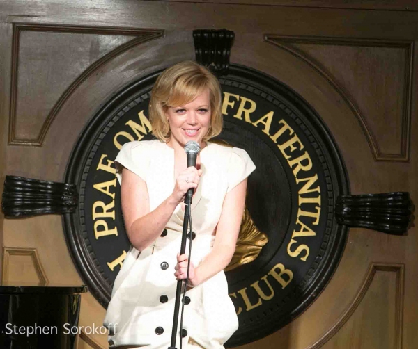 Emily Bergl at The Friars Club Presents REMEMBERING THE OAK ROOM