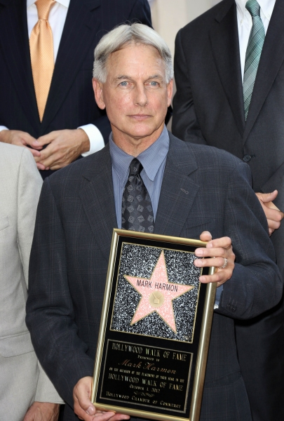 Photo Flash: Mark Harmon Receives Star on Hollywood Walk of Fame