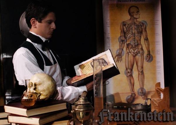 Louis Crespo as Frankenstein.