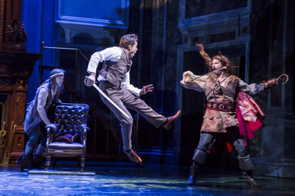 Julian Ovenden and Oliver Boot at First Look at Julian Ovenden and Rosalie Craig in FINDING NEVERLAND!