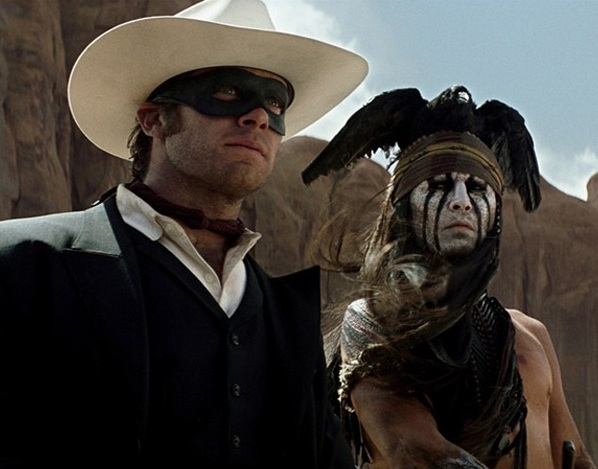 Armie Hammer, Johnny Depp at New Images from THE LONE RANGER Starring Johnny Depp, Armie Hammer