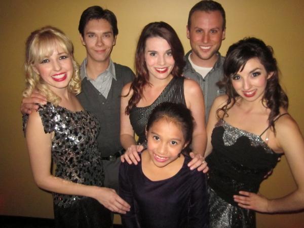 Emily Carlstrom, JD Wiese, Jaclyn Kelly, Tim Woods, Angeline Mirenda with Isabella J Photo