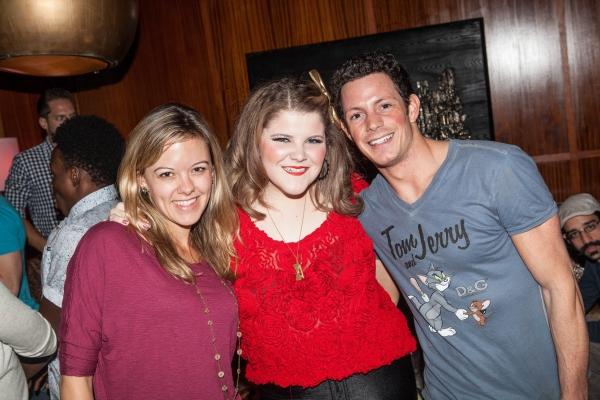 Kate Rockwell, Ryann Redmond and Sheldon Tucker