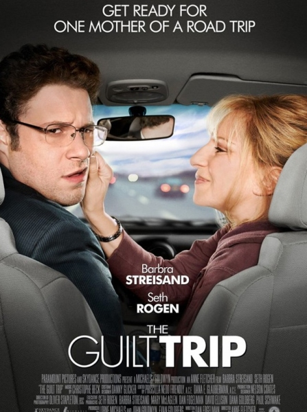 Photo Flash: Poster Art Revealed for Barbra Streisand's GUILT TRIP