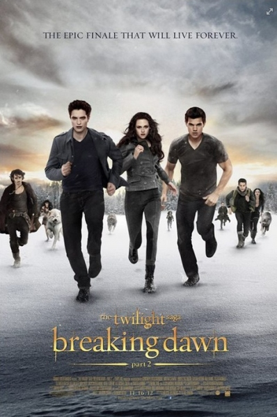 Photo Flash: Poster Art Revealed For BREAKING DAWN: PART 2