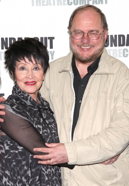 Chita Rivera and Rupert Holmes at Photos: Stephanie J. Block, Will Chase, Chita Rivera & the Cast of THE MYSTERY OF EDWIN DROOD Meet the Press!