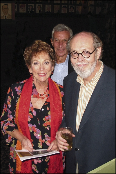 Lucy Martin and Playwright Jeffrey Hatcher