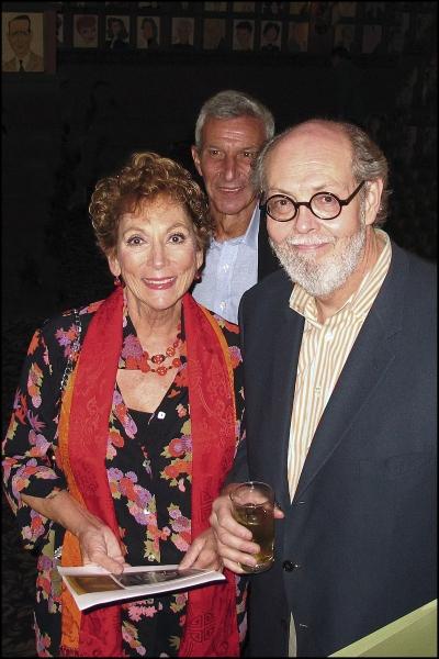 Lucy Martin and Playwright Jeffrey Hatcher Photo