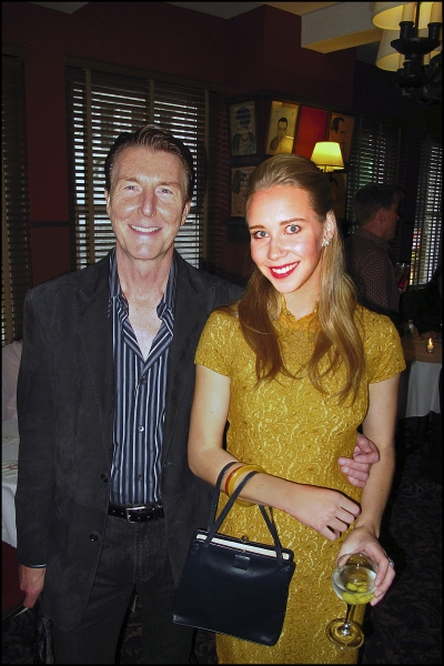Byron Jennings and Julia Bray