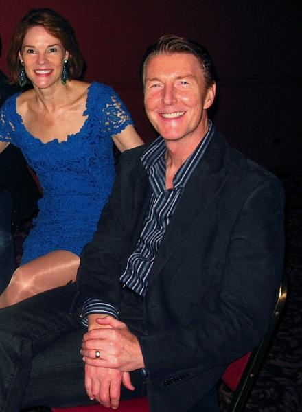 Carolyn McCormick and Byron Jennings at TEN CHIMNEYS Celebrates Opening at Sardi's