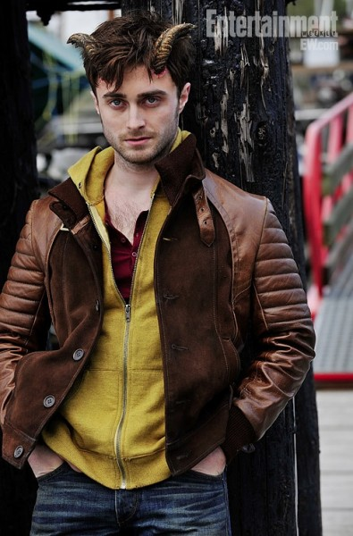 Photo Flash: First Look at Daniel Radcliffe in HORNS