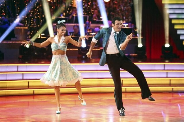 TONY DOVOLANI, MELISSA RYCROFT  at Shots from Monday Night's DANCING WITH THE STARS!