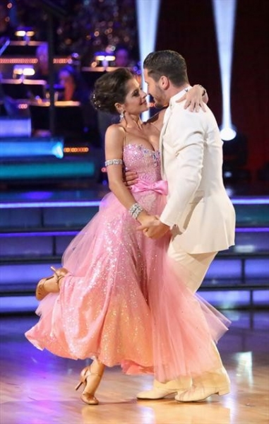 VALENTIN CHMERKOVSKIY, KELLY MONACO  at Shots from Monday Night's DANCING WITH THE STARS!