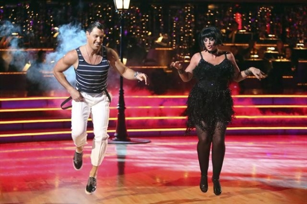 MAKSIM CHMERKOVSKIY, KIRSTIE ALLEY    at Shots from Monday Night's DANCING WITH THE STARS!