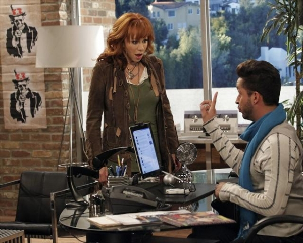 REBA MCENTIRE, JAI RODRIGUEZ  at First Look at 11/2 Episode of MALIBU COUNTRY