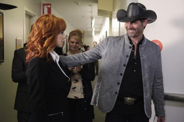 REBA MCENTIRE, JEFFREY NORDLING  at First Look at 11/2 Episode of MALIBU COUNTRY