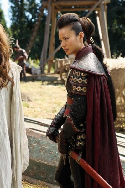 JAMIE CHUNG    at First-Look at Upcoming Episode of ONCE UPON A TIME, Airs 10/14