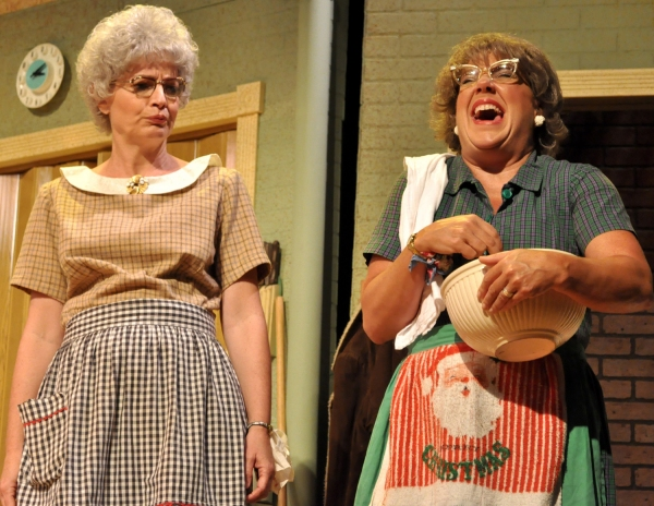 Photo Flash: Church Basement Ladies' AWAY IN THE BASEMENT Plays Beef & Boards Dinner Theatre