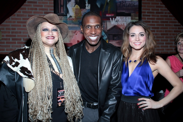 Michele Mais, Andre Ward, Neka Zang at ROCK OF AGES Hosts Military Night!