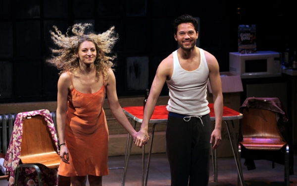 Photo Coverage: Inside Opening Night of MARRY ME A LITTLE- Curtain Call!