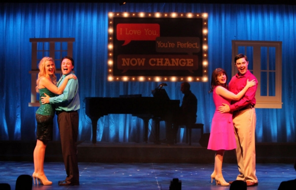 Photo Flash: First Look at Michael Dotson, Jennifer Malenke, Melissa WolfKlain and More in I LOVE YOU, YOU'RE PERFECT, NOW CHANGE