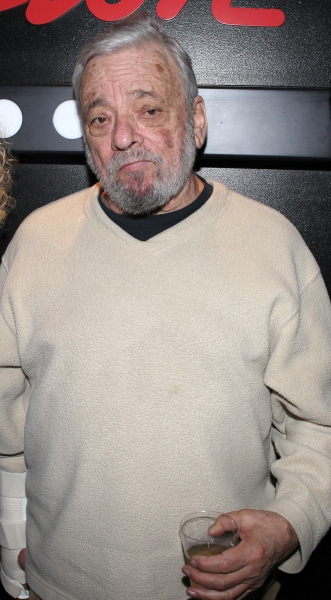 Stephen Sondheim  at MARRY ME A LITTLE's  Opening Night After Party!