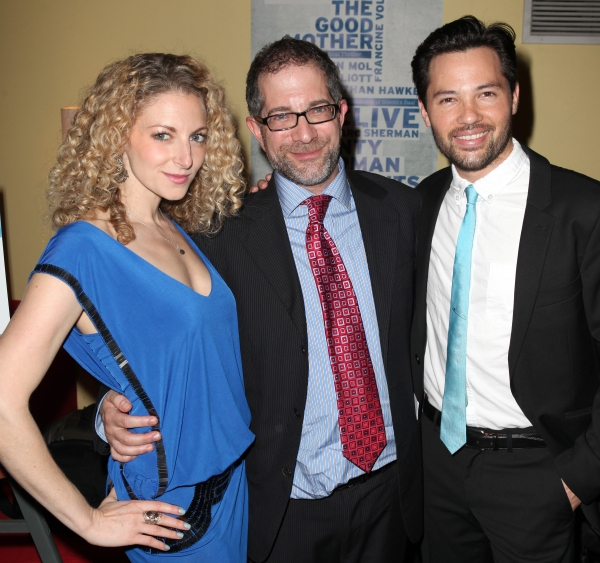 Lauren Molina, Director Jonathan Silverstein and Jason Tam