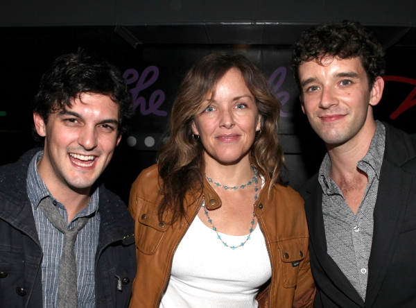 Wesley Taylor, Alice Ripley and Michael Urie