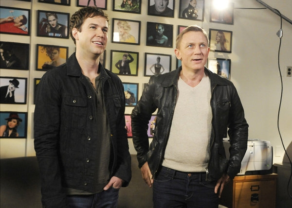 Photo Flash: First Look - Daniel Craig on the Set of SATURDAY NIGHT LIVE