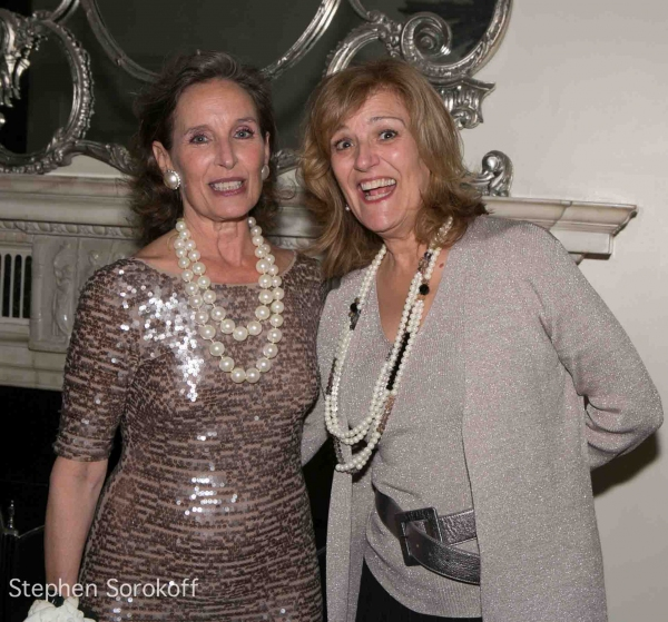 Andrea Marcovicci & Karen Mason at Andrea Marcovicci Brings SMILE to Cafe Carlyle