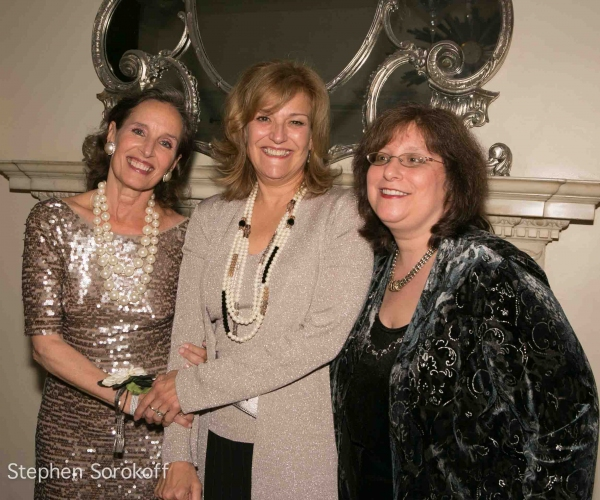 Andrea Marcovicci, Karen Mason, Lesley Alexander at Andrea Marcovicci Brings SMILE to Cafe Carlyle