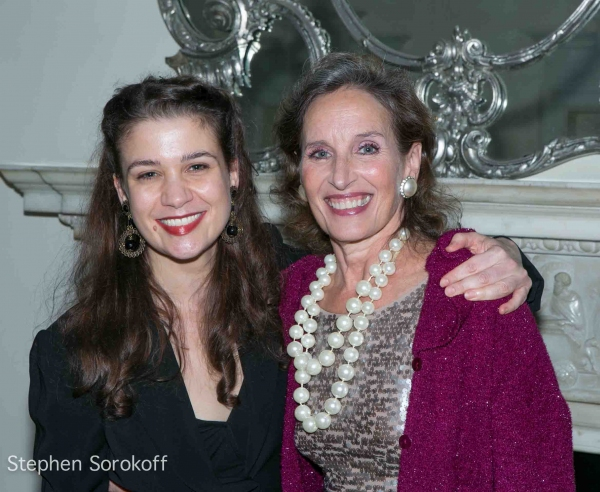 Maude Maggart & Andrea Marcovicci at Andrea Marcovicci Brings SMILE to Cafe Carlyle
