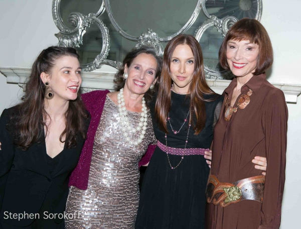 Maude Maggart, Andrea Marcovicci, Lauren Fox, Karen Akers at Andrea Marcovicci Brings SMILE to Cafe Carlyle