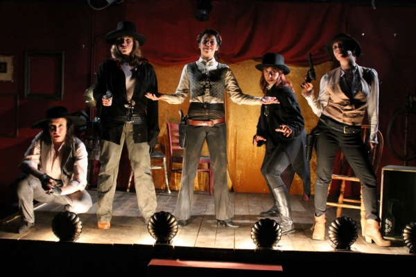 Photo Flash: First Look at Colleen Hughes, Amanda Schoonover and More in EgoPo' THE ASSASSINATION OF JESSE JAMES