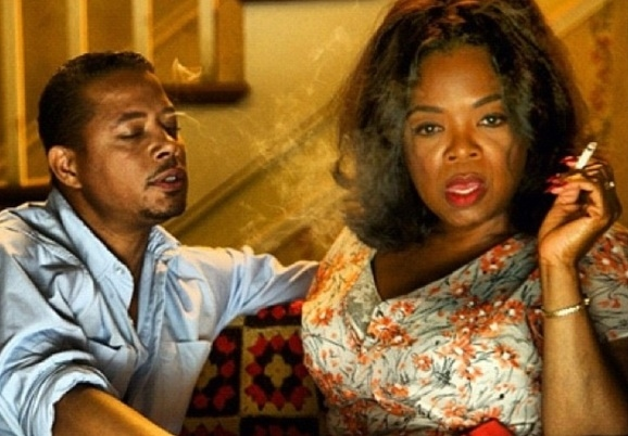 Terrence Howard, Oprah Winfrey at First Look: Oprah Winfrey In THE BUTLER