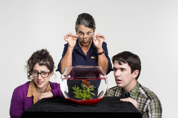 Amy Schweid, Judy Radcliff, and Ben Beck