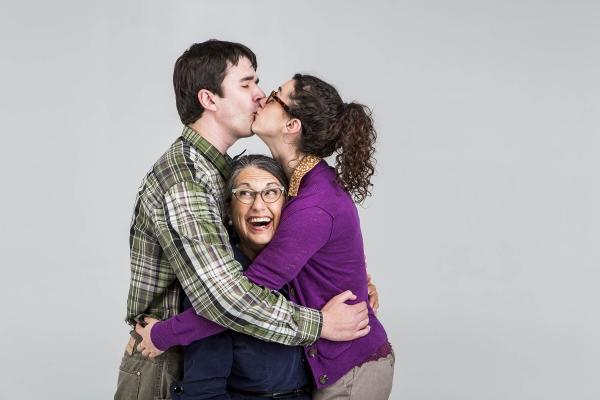 Ben Beck, Judy Radcliff, and Amy Schweid