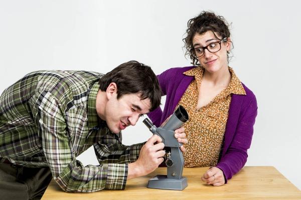 Ben Beck and Amy Schweid
