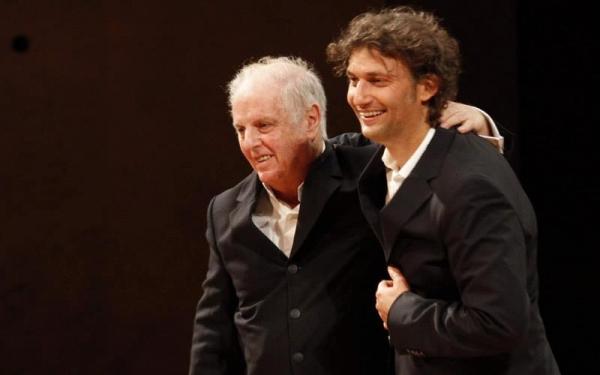 Daniel Barenboim und Jonas Kaufmann   at Jonas Kaufmann und Daniel Barenboim in der Berliner Philharmonie
