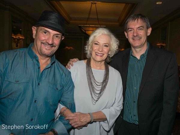 Eric Komfeld, Betty Buckley, Music Director Christian Jacob