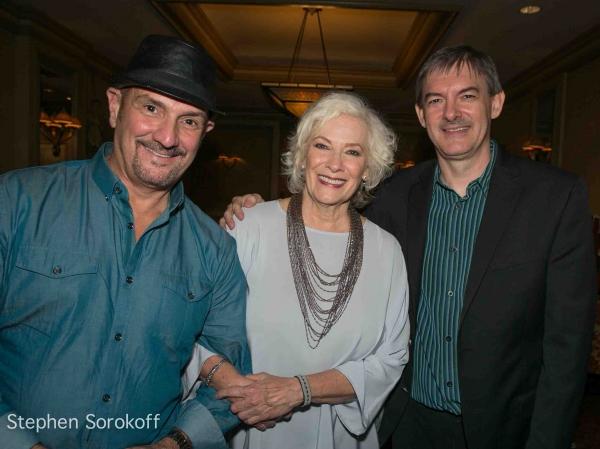 Eric Komfeld, Betty Buckley, Music Director Christian Jacob Photo